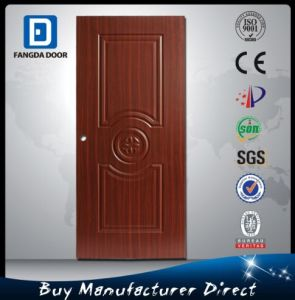 Fangda Teak Wood Door Frame for Steel Door pictures & photos