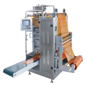 Soy Sauce Four-Side Sealing and Multi-Line Packing Machine pictures & photos