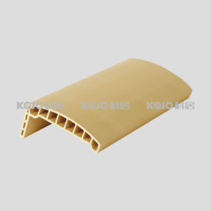 OEM/ODM WPC Fire Resistant Material Plastic Wood Architrave (MT-8025) pictures & photos