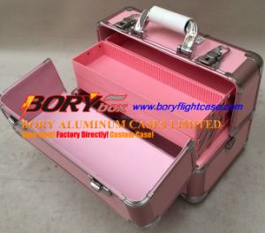Bory Aluminum Make up Flight Case Trolley Case Varies