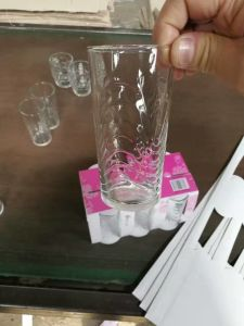 Drinking Glass Cup with Client Brand Glassware Kb-J00131 pictures & photos