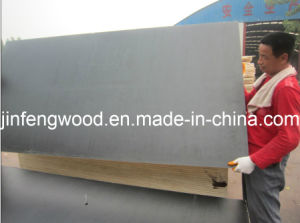 China Factory Supply 11 Layer Melamine Glue Black/Brown Color Film Faced Plywood pictures & photos