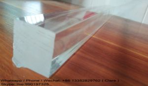 Square Clear PMMA Acrylic Rods pictures & photos