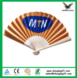 Custom Printed Spanish Paper Folding Hand Fans pictures & photos