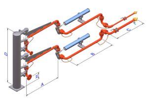LPG Truck Loading Arm