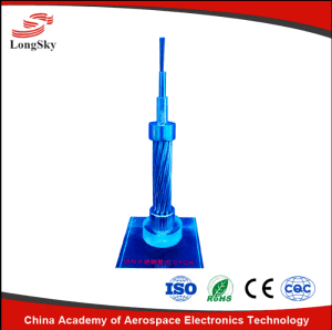 Stranding Stainless Steel Tube Optical Fiber Composite Overhead Ground Wire Sst Opgw for Electric Cable