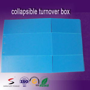 PP Corrugated Box Plastic Turnover Box Stacking Tote pictures & photos