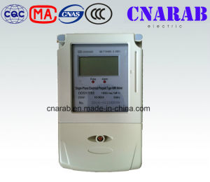 Single Phase Smart Digital Meter Prepaid Energy Meter IC Type pictures & photos