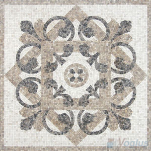 Square Stone Marble Mosaic Rug for Floor (VS-ASQA96)