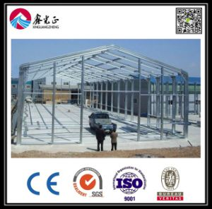 Steel Frame Warehouse and Workshop with SGS Certification (BYSS051904) pictures & photos