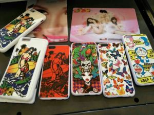 UV Flatbed Printer/Printer to Make Cell Phone Cover for/UV Inkjet Flatbed Printer/A4 Paper pictures & photos