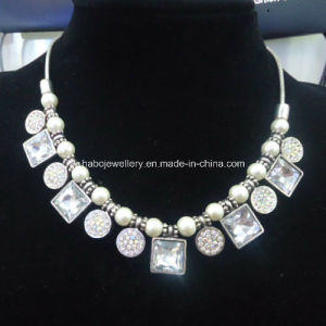 Glory Diamond with Pearl Chain Necklace (XJW13366) pictures & photos