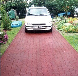 Carriageway Rubber Flooring