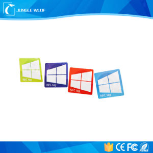 I Code Sli ISO15693 Dia 30mm Hf NFC PVC Paper Label Tag pictures & photos