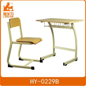 Kids School Table and Desk Single Furniture in Wholesale pictures & photos