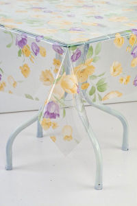 plastic tablecloth pictures & photos