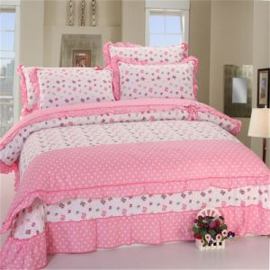 2016 100% Cotton Bed Sheet Cover/Pillowcases pictures & photos