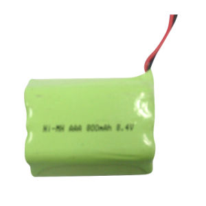 NiMH AAA 8.4V Rechargeable Battery Packs for Small Home Appliances pictures & photos