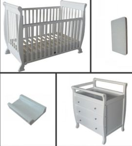 Sleigh Baby Crib