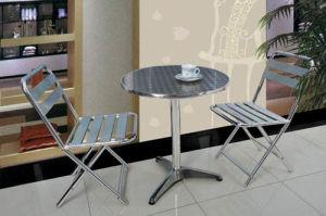 Aluminium Table & Chair