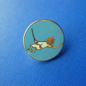 Gold Plated Soft Enamel Lapel Pin, Custom Badge (GZHY-SE-036) pictures & photos