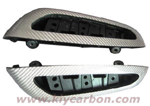 Wrapping Silver Carbon Fiber Parts pictures & photos