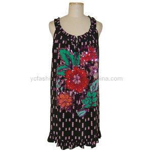 Ladies Silk CDC Dress