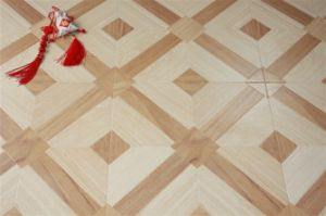 Parquet Style Laminate Flooring 816 pictures & photos