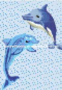 Glass Mosaic Pattern Design Swimming Pool Mosaic (HSP325) pictures & photos