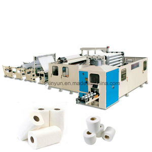 Full Automatic Non-Stop High Speed Toilet Tissue Paper Rewinding Machine pictures & photos