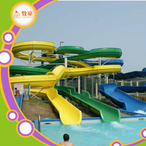Water Park Equipment Fiberglass Big Water Slide for Sale pictures & photos
