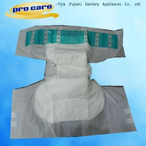 Disposable Adult Diapers with Wetness Indicator and PE Back Film. (YJAD-140301) pictures & photos