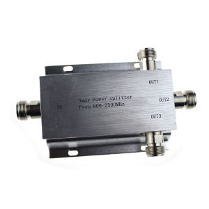 3 Way N-Type Power Divider Splitter 800~2500MHz for GSM CDMA 3G Signal Booster 17F04