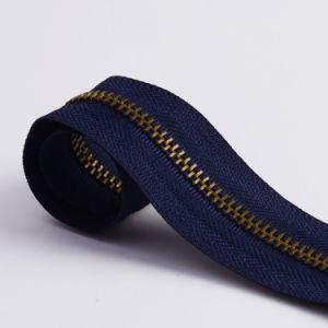 No. 5 5# Brass Zipper Metal Zipper Long Chain pictures & photos