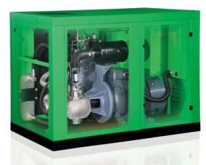 Oil-Free Screw Air Compressor (11-160KW) pictures & photos