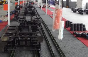 Manufacture The Rubber Track Chasis (DS-250) pictures & photos
