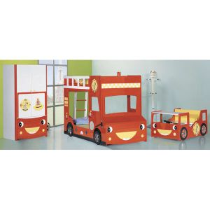 Fashion Wooden Child Kids Baby Red Armoire Wardrobe Furniture (WJ277479) pictures & photos