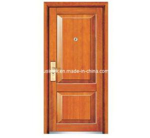 Steel Wooden Door (FXGM-A108) pictures & photos