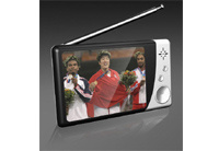 Analong TV/MP4/MP5 Player (PRA-2816-BLACK-WHITE)