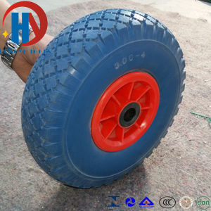 China High Quality PU Foam Wheels pictures & photos
