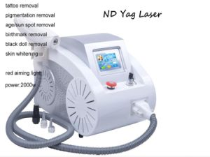 ND YAG Laser Tattoo Scar Acne Removal Skin Care Beauty Equipment Long Pulse ND YAG Laser pictures & photos
