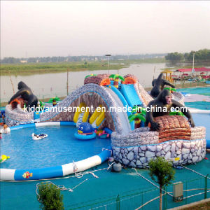 2017 New Inflatable Water Slide for Water Park