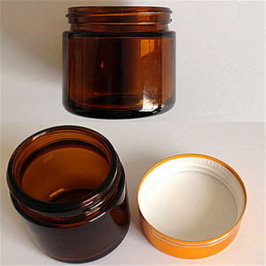 Wide Mouth Amber Glass Vials for Tablet pictures & photos