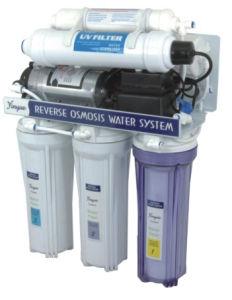 Plastic UV Reverse Osmosis Machine pictures & photos