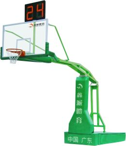 XP2010 Electro Hydralic Basketball Stand / Post / Backstop