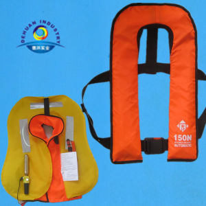 Solas Approved Automatical Inflatable Life Jacket pictures & photos