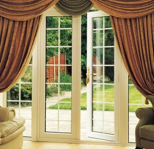 Double Glazing Aluminum French Doors pictures & photos