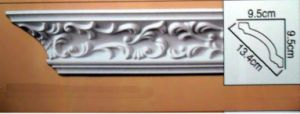 PU Corner Decorative Cornice Crown Moulding for Interior / Exterior pictures & photos