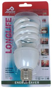 Energy Saving Light Spiral