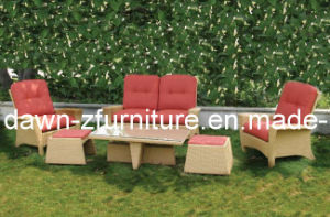 Rome Outdoor Rattan Love Seat (CEN-10159)